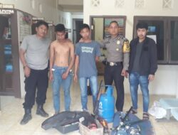 Ungkap Kasus Pencurian, Polsek Lintau Buo Utara Tangkap Dua Pelaku