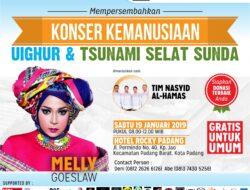 Galang Dana Lewat Konser Kemanusian di Padang, ACT Sumbar Gandeng Melly Goeslow