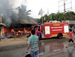 Rumah Pensiunan PNS, Hangus Dilalap Api