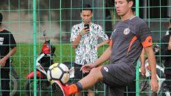 Pemain berkebangsaan Brazil itu bernama Nildo Victor Juffo bergabung bersama Semen Padang FC. Foto : Ikhlasul Ikhsan