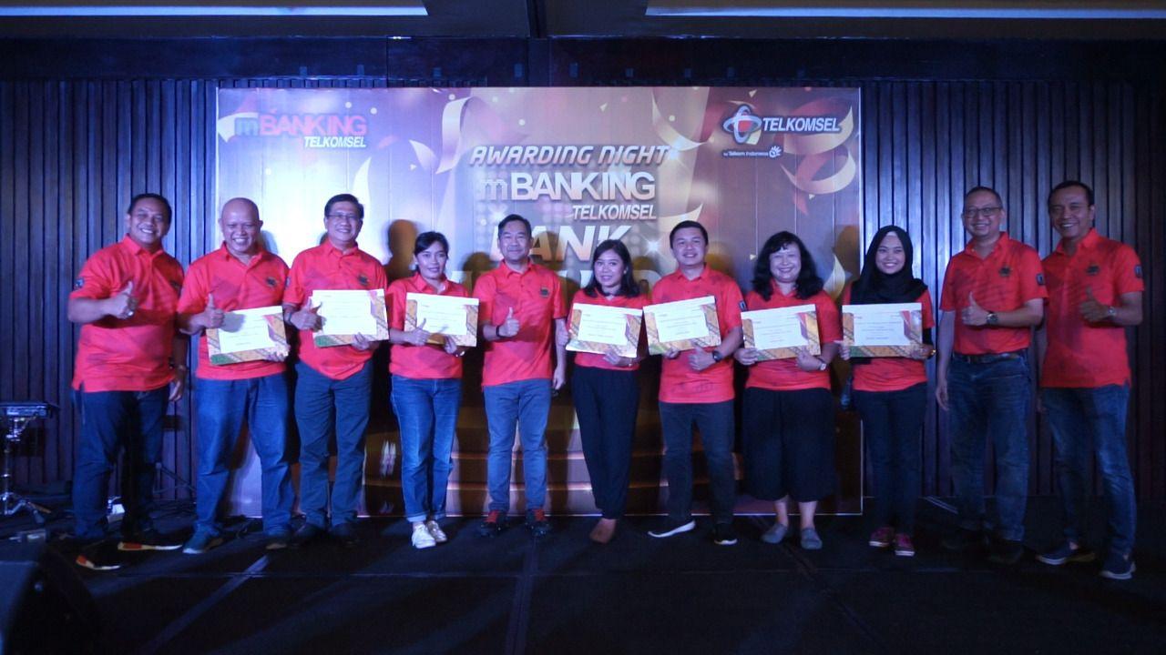 Award Mobile Banking Telkomsel 2019