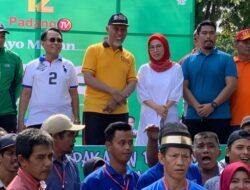 Edriana Ajak Warga Promosi Kuliner Sate Padang