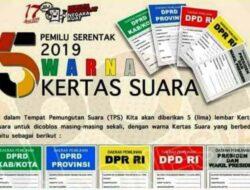 Surat Suara Pemilu 2019 Tiba Di Tanah Datar, Kecuali DPD Masih Proses Percetakan