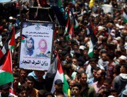 Aksi Unjuk Rasa Perjuangan Great March of Return