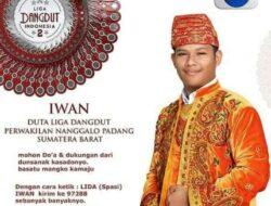 Walikota Mahyeldi Dukung Iwan di LIDA Indosiar