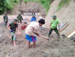 Anak 12 Tahun Ikut Bantu TNI dalam TMMD ke-104