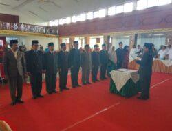 7 Pejabat Eselon II Dilantik Bupati Sijunjung