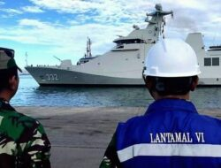Kapal Siluman Canggih TNI AL Siaga di Makassar