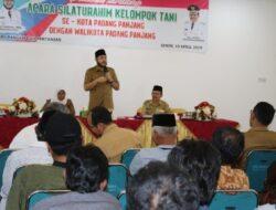 Walikota Padang Panjang Tampung Aspirasi para Petani