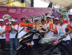 KPU Sumbar dan Padang Gelar Pemilu Fun Run