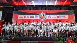 Acara launching Skuad Semen Padang FC untuk Liga 1 Indonesia di Mercure Hotel, Padang, Sabtu 27 April 2019. Foto : Semenpadangfc.co.id