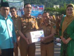 Baznas Pessel Salurkan 500 Paket Lebaran bagi Tenaga Honorer