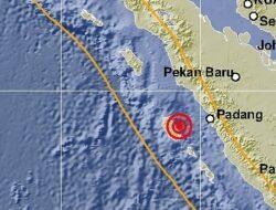 Gempa 4,1 SR Kembali Guncang Mentawai