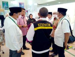 Leonardy Harmainy Puji Kinerja Tim Pemandu Haji Embarkasi Padang