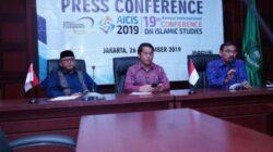 Konferensi Pers Persiapan Gelaran AICIS 2019 di Jakarta