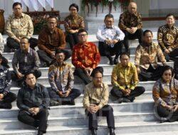 Ini Daftar Menteri Kabinet Indonesia Maju