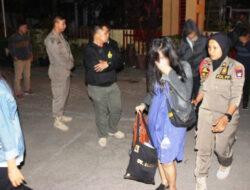 Razia Dini Hari, Satpol PP Padang Amankan 15 Wanita