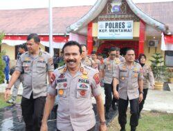 Kapolda Sumbar Janji Tambah Personil di Polres Mentawai
