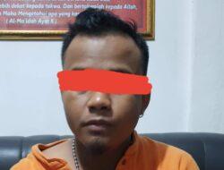 Polres Solok Kota Ciduk Pelaku Curanmor  di Muaro Paneh