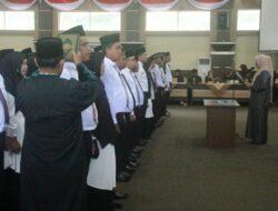 Sukseskan Pemilu 2020, PPK Se Kabupaten Solok Di Lantik KPU
