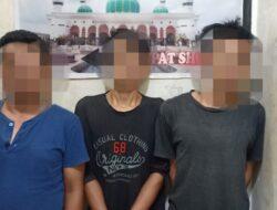 Polisi Ringkus 3 Pelaku Diduga Penyalahgunaan Narkotika