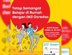 Corona, Indosat Ooredoo Berikan Kuota Gratis untuk Kuliah