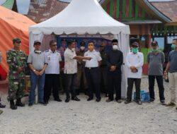 Ketua DPRD Monitoring Posko Di Wilayah Perbatasan Kabupaten Solok