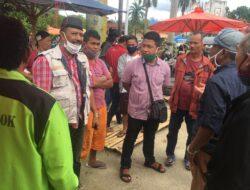 Rentan! Relokasi Pedagang, Pasar Rakyat Kota Solok Minim Protokol Kesehatan