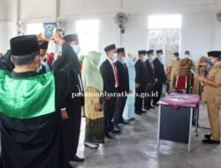 Pasaman Barat Lantik Badan Musyawarah Nagari Lingkuang Aua
