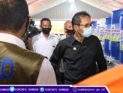 Satgas Bencana BUMN Sumbar Serahkan Bantuan 200 Washtafel