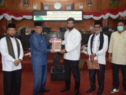 Bupati Paparkan Rancangan KUA PPAS Di Sidang Paripurna DPRD Kabupaten Solok