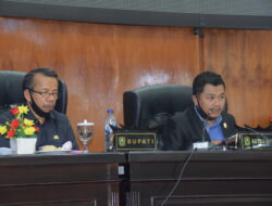 DPRD Kabupaten Solok Gelar Rapat Pandangan Umum Terhadap Pertanggung Jawaban APBD