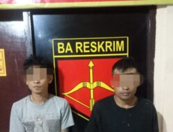 Diduga Terlibat Narkoba, Dua Pria Diringkus Polisi