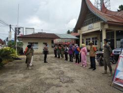 Kukerta Mahasiswa Universitas Riau Jadi Relawan Covid-19 Di Kabupaten Lima Puluh Kota