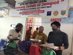 Padang Panjang Lakukan Tera Ulang Timbangan Pedagang dan Pelaku Usaha
