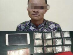 Diduga Mengedarkan Narkoba Di Solok, Seorang Pemuda Diringkus Polisi