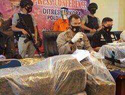Sita 110 Paket Besar Narkotika, Polda Sumbar : Diduga Asal Sumut