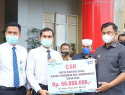 Peduli Pendidikan, CSR Bank Nagari Beri Bantuan di Dharmasraya