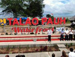 Lettermark Talao Pauh Diresmikan Walikota Pariaman