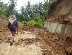 Sempat Tertimbun Longsor, Akses Jorong Nagari Tiku Kembali Dilalui