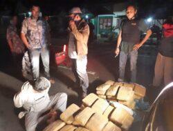Satuan Polres Pasaman Ringkus Pengedar Narkoba Jenis Ganja