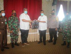 Bupati Solok Menerima Kunjungan Tim Sosialisasi Adaptasi Kebiasaan Baru Provinsi Sumatera Barat