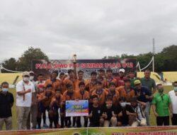 Tim Gasliko Berhasil Juarai Turnamen Piala SIWO PWI Sumbar U-14