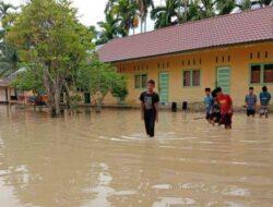 Air Sungai Meluap, Ratusan Rumah Terendam Banjir