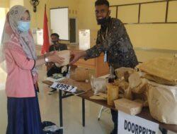 Tingkatkan Partisipasi Pemilih, PPS Desa Rawang Berikan Doorprize