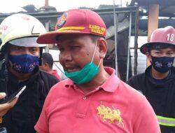Enam Unit Rumah di Jalan Nipah Hangus Dilalap Sijago Merah