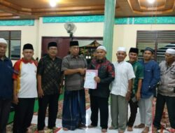 Perantau Nagari Koto Wakafkan Tanah Bangun Rumah Tahfiz