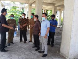 Komisi III DPRD Padang Tinjau Pembangunan Bermasalah