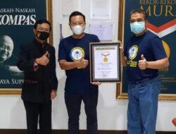 IASMA 1 Landbouw Bukittinggi Terima Penghargaan dari MURI : Rekor Reuni Virtual