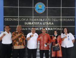 Wawako Solok Sambangi Kantor BNN Deli Serdang Sumatera Utara